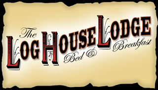 Log House               Lodge logo